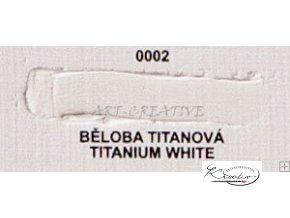Olejová barva č. 0002 běloba titanová 20ml