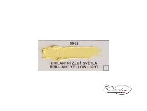 Olejová barva č. 0062 brilantní žluť světlá 20ml