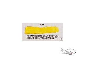 Olejová barva č. 0066 permanentní žluť světlá 20ml