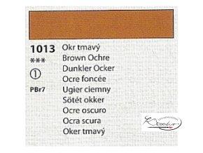 Tempera Umton 35 ml - 1013 Okr tmavý