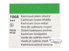 Tempera Umton 35 ml - 1068 Kadmiová zeleň střední