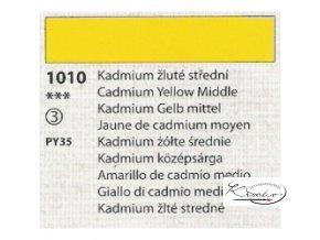 Tempera Umton 35 ml - 1010 Kadmium žluté střední