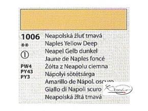 Tempera Umton 35 ml - 1006 Neapolská žluť tmavá