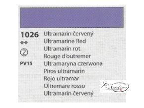 Tempera Umton 35 ml - 1026 Ultramarin červený