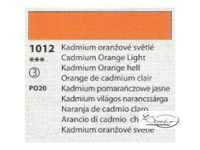 Tempera Umton 35 ml - 1012 Kadmium oranžové světlé