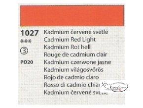 Tempera Umton 35 ml - 1027 Kadmium červené světlé