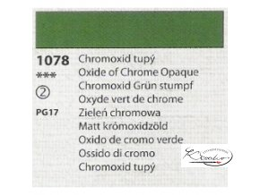 Tempera Umton 35 ml - 1078 Chromoxid tupý