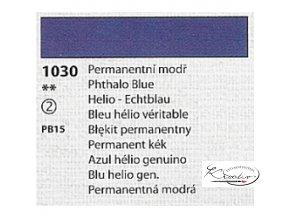 Tempera Umton 35 ml - 1030 Permanentní modř