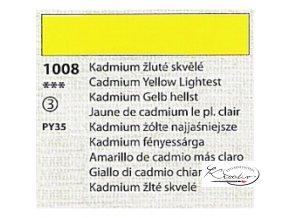 Tempera Umton 35 ml - 1008 Kadmium žluté skvělé