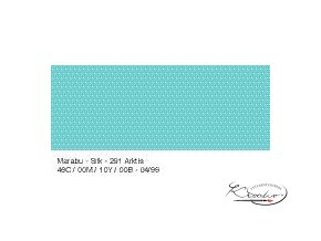 Silk Marabu  č. 291 Arctic barva na hedvábí 50ml