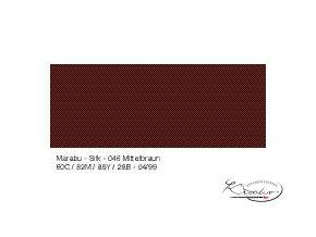 Silk Marabu č. 046 Medium brown barva na hedvábí 50ml