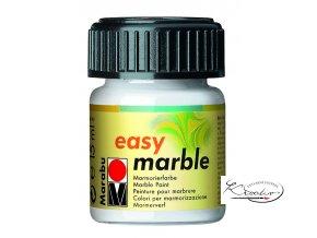 Mramorovací barva easy marble 15ml 070 Bílá
