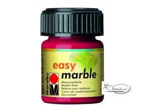 Mramorovací barva easy marble 15ml 031 červená třešňová