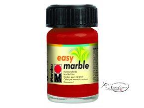 Mramorovací barva easy marble 15ml 038 červená