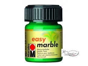 Mramorovací barva easy marble 15ml 067 zelená