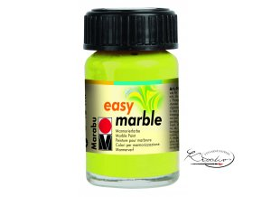 Mramorovací barva easy marble 15ml 061 sv. zelená reseda