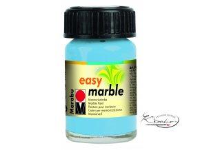 Mramorovací barva easy marble 15ml 090 sv. modrá