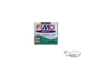 FIMO Soft 56g 56 smaragdová