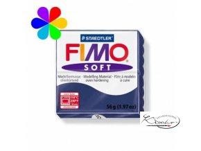 FIMO Soft 56g 35 modrá tmavá