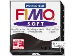 FIMO Soft 56g 09 černá
