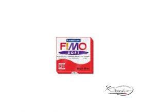 FIMO Soft 56g 24 indická červená
