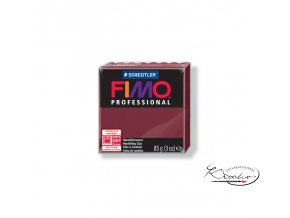 Fimo Professional 85g 23 Bordó