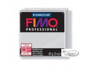 Fimo modelovací hmota Professional 85g 80 šedá
