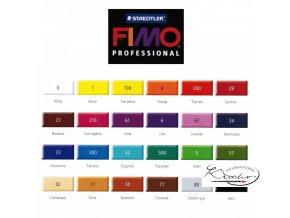 Fimo Professional 85g 5 Zelená světlá