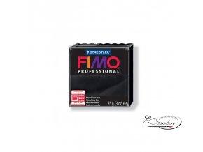 Fimo modelovací hmota Professional 85g 9 Černá