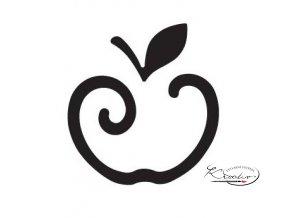 Výsekový strojek 22mm - Jablko