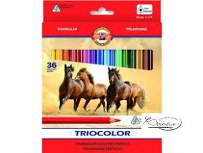 Triocolor pastelky 36 barev
