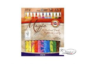 Magic souprava barevných tužek 12+1