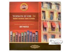TOISON D´OR 24 souprava prašných kříd