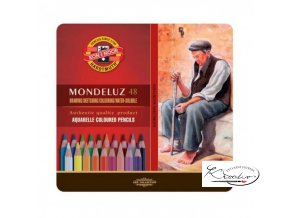MONDELUZ souprava akvarelových pastelek 48