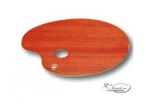 Paleta malířská dřevěná 25x35 cm