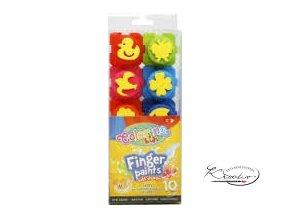 Prstové barvy Colorino Kids 10 x 20ml