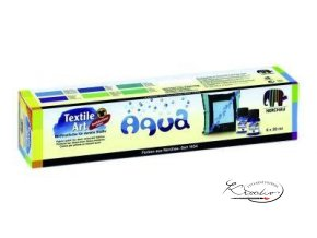 Textil Art Aqua 6x20ml souprava barev na textil