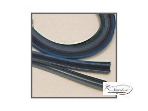 Papírové proužky 50x0,5cm set modrý