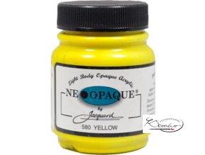 Neopaque Jacquard 67 ml - 580 Žlutá