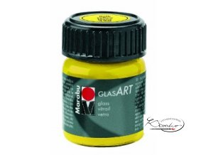 GlasArt Marabu 15 ml - 420 Žlutá
