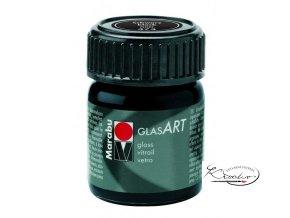 GlasArt Marabu 15 ml - 473 Černá