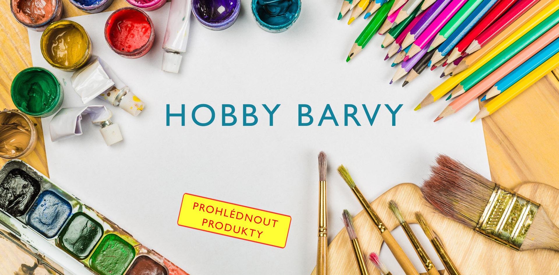Hobby barvy
