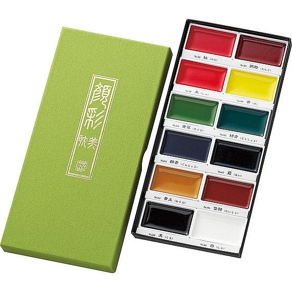 Akvarelové barvy