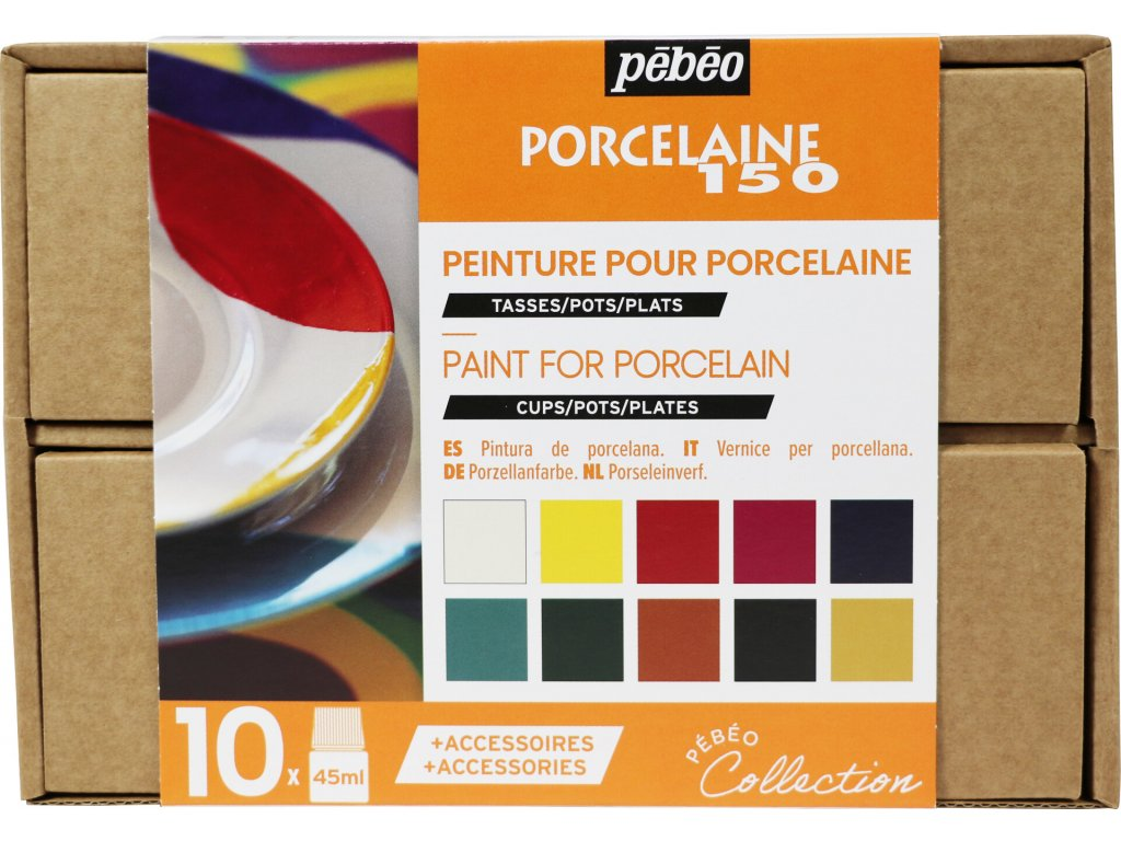 Porcelaine 150 kufřík (10 × 45 ml)