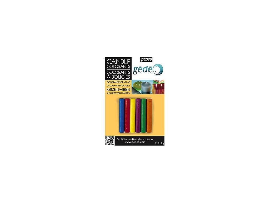 Gédeo Barvy na svíčky - 6 barev