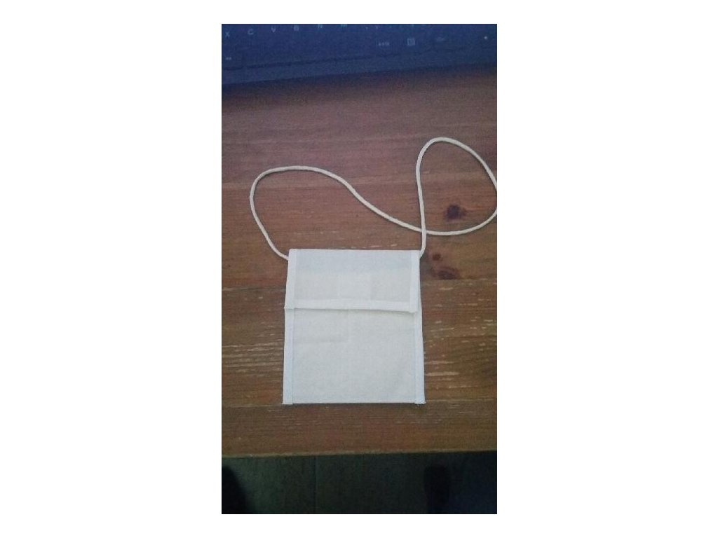Bavlněná dětská peněženka na krk