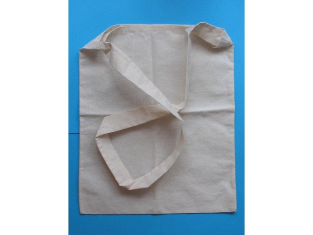 Bavlněná taška přes rameno 30x39 cm