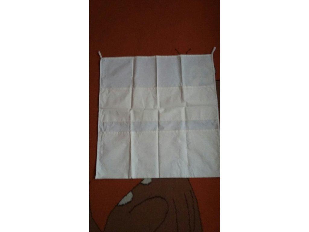 Bavlněný kapsář na hračky 53x53 cm