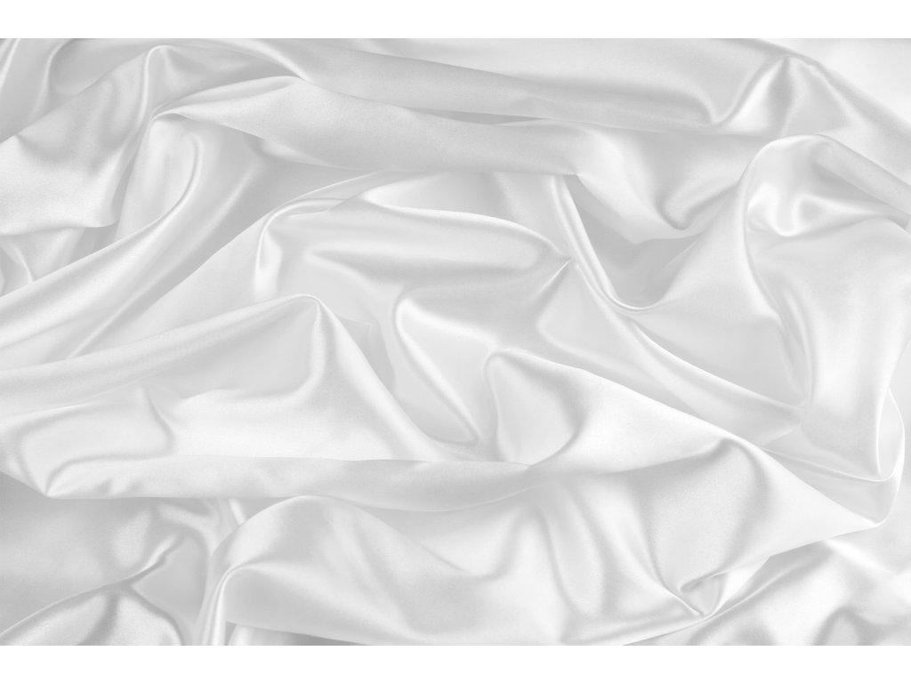 hedvábná šála crepe de chine 40x150 cm s třásněmi