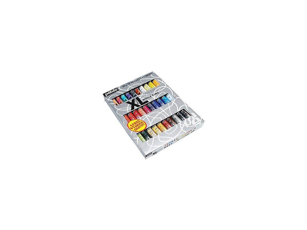 Sada olejových barev Studio XL (+ štětec), 30 x 20 ml